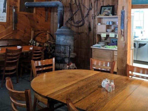 Rathbun's Maple Sugar House Dining Area