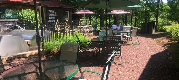 Rathbun's Maple Sugar House Restaurant Table