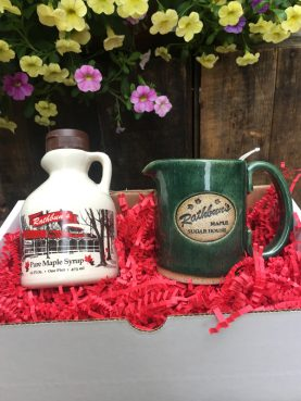 Rathbun's Maple Sugar House Syrup and Mug Box
