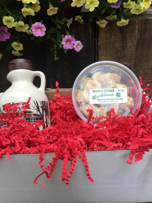 Rathbun's Maple Sugar House Syrup and Candy Giftbox