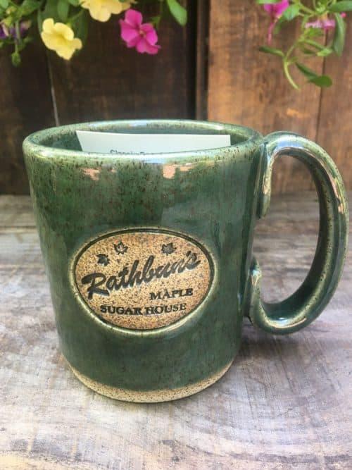 Rathbun's Green Mug