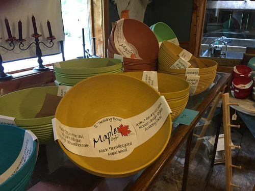 Rathbun's Maple Sugar House Recycled Maple Wood